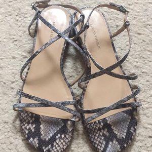 Strap Sandals Never Worn 7.5
